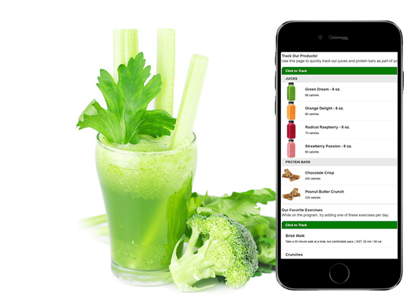 Juice and Mobile App